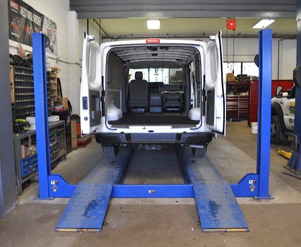 Commercial Van Customization In New Jersey